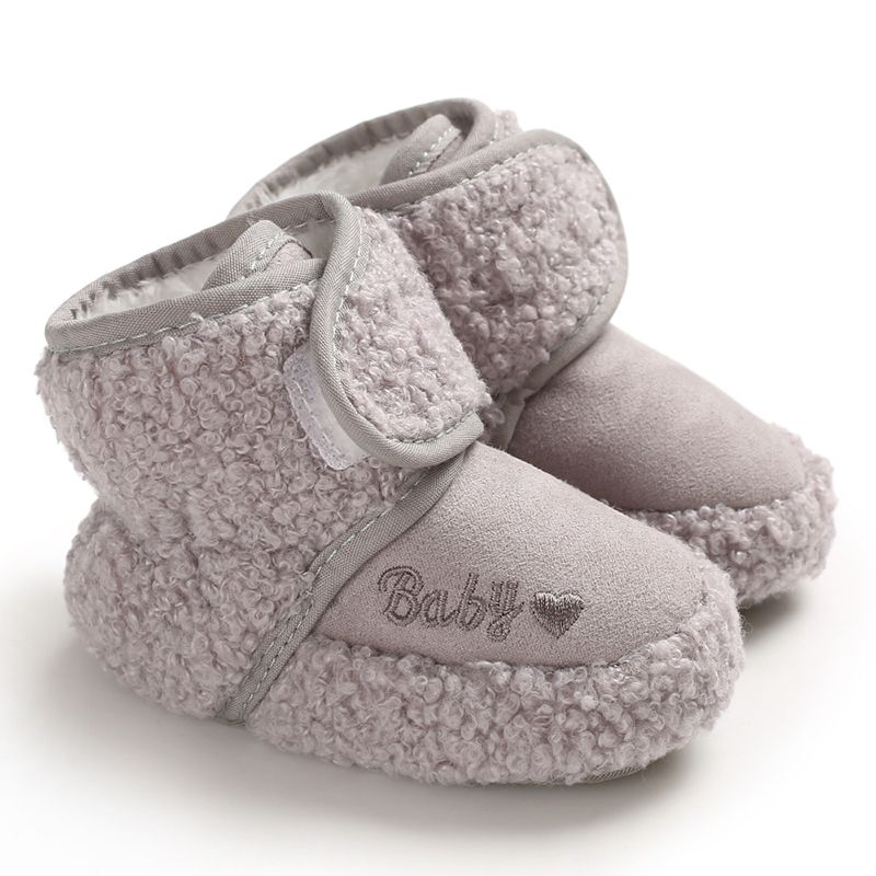 KIDS Shoes Snow Boots For Baby Girls Boys Snow Boots Shoes Fashion Warm Plush Inside Baby Infant Boots Toddler Shoes