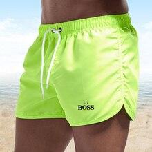 Мужские спортивные шорты для фитнеса, шорты для бодибилдинга, джоггеры, быстросохнущие крутые короткие брюки Yes Boss, мужские повседневные пл...