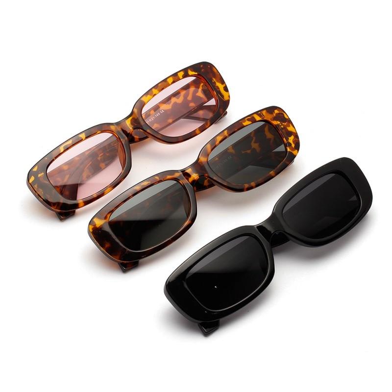 Fashion Punk Sun Glasses Frame PC Lens AC Travel Sunglasses Retro Small Oval Sunglasses For Women