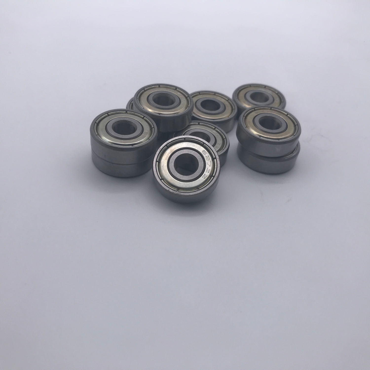 10pcs/lot 627ZZ 627 Deep Groove Ball Bearing 7x22x7 Mm Miniature Bearing 7*22*7  Bearing 6.35x22x7 6.35*22*7