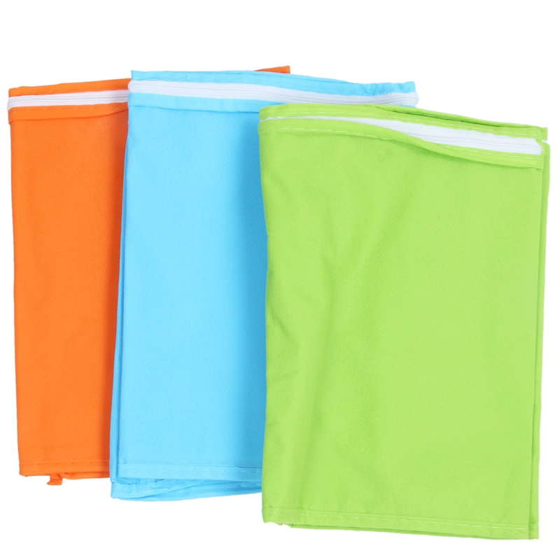 3pcs Clothes Storage Bags Suits Coat Protective Dust Folding Non woven Cover|Clothing Covers| |  - title=
