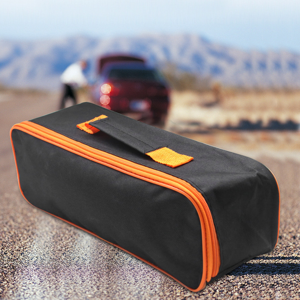 Multifunctional Practical Car Storage Case Zipper Closure Portable Pouch Durable Wear Resistant Vacuum Cleaner Tool Bag Carring