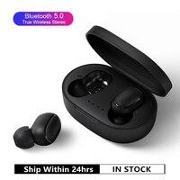 A6S Bluetooth TWS Écouteurs VS Redmi Airdots Casque Sans Fil Casque Stéréo Mini Écouteurs pour Xiaomi iPhone Huawei Samsung