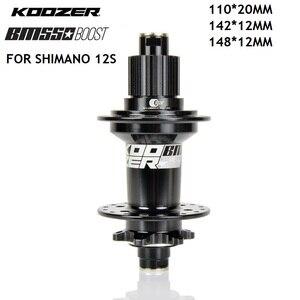 KOOZER BM550 Bike BOOST Hubs 32H 12 Speed MTB AM FR DH MICRO SPLINE Hub 148*12 110*20MM For Shimano DEORE XT M8100 M7100 M6100