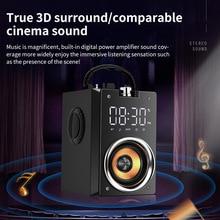 Bluetooth Speaker Portable Big Power Wireless 2200mAh Subwoofer Heavy Bass Stereo Music Player LCD Display FM Radio TF