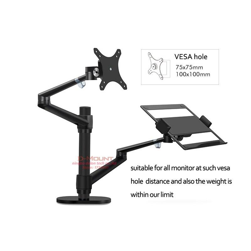 Desk Monitor Desktop-Holder Laptop-Stand Computer Multifunction OL-3L Aluminum 10--17-ergonomics