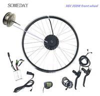 Vender https://ae01.alicdn.com/kf/Ha636488407c34abdb2815a2c90500a89W/Algún día 36V350W Ebike kit de conversión de bicicleta eléctrica rueda delantera del Motor 16 24.jpg