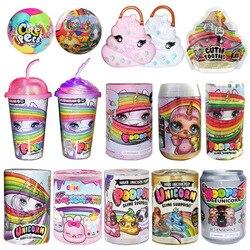 Brinquedos de descompressão poopsie slime unicorne latas sparkly bichos poopsie slime licorne unicórnio squishy stress reliever brinquedos
