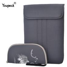 Saco do portátil para macbook ar pro 11,13, 13.3, 15, 17.3 polegada luva portátil à prova dwaterproof água caso notebook saco de proteção para macbook pro 13