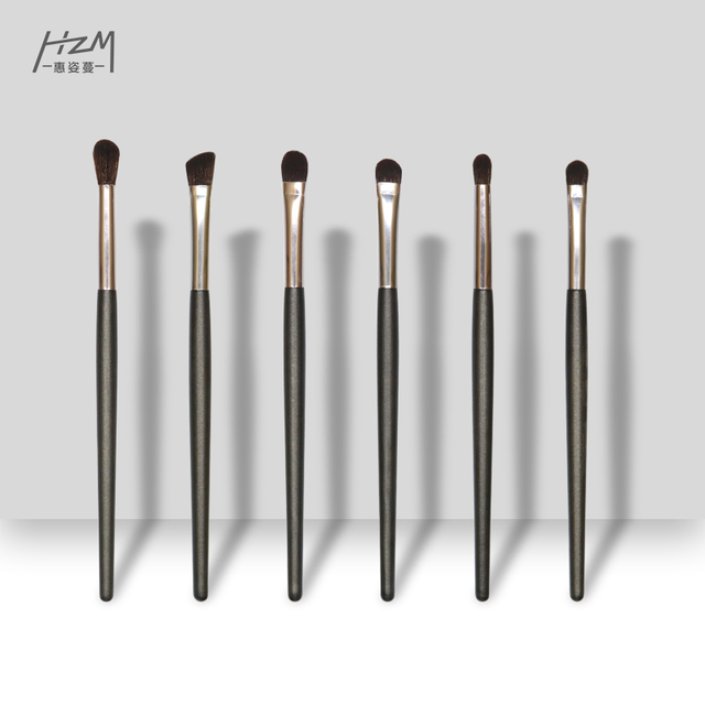 HZM 2020 NEW Professional Eyeshadow Brush Eyelash Eyeliner Kabuki Brush Cosmetics Beauty Brushes Tool YA317-6