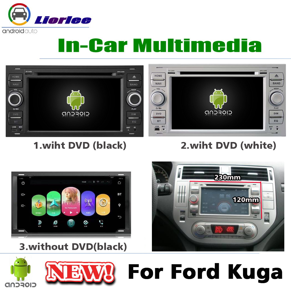 2 din Car DVD Multimedia Player For Ford Kuga/Fusion 2007~2012 Radio Android autoradio Navigation GPS Stereo Screen NAVI System image
