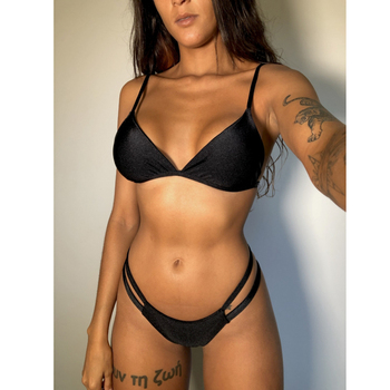 Plus Size Bademode Frauen Badeanzug Push-Up Bikini Sexy Brasilianische Strand Bademode 1