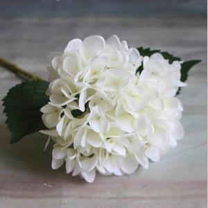 Image 5 - Fashion Artificial Hydrangea Flower Silk Cloth Plastic Wedding Supplies DIY Home Decoration For Birthday Party Festival Gift