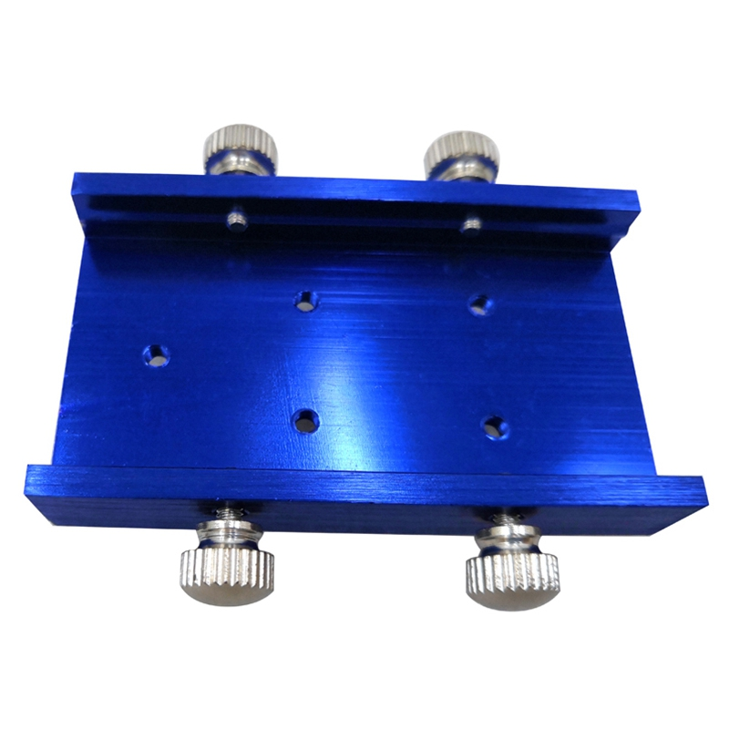 Promotion! Cooling Pad Heat Module Holder Heatsink Engraving Machine Cnc Parts Suit 33Mm -Blue