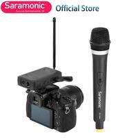 Saramonic SR WM4CA Wireless Handheld Microphone System for Canon Nikon Sony DSLR Camera Camcorder Youtube Video Livestream