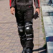 KOMINE Motorcycle Knee Pads Motocross Protector Guard Moto Protective Gear Motorbike Riding Anti-fall