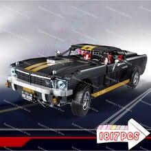 1817 pçs modelo de carros rc conjuntos gt350 blocos de construção brinquedos fantasma steed super velocidade estrada carro corrida presentes técnicos crianças