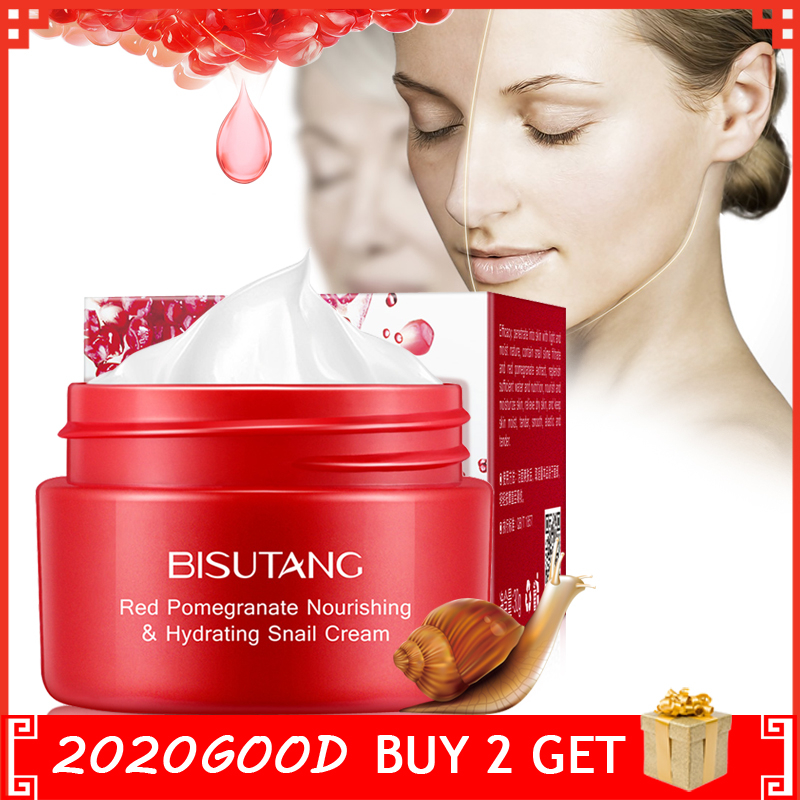 Snail Firming Hydrating Face Cream Nourishing Anti Wrinkle Skin Care Anti Aging Serum Day Cream Lifting Facial Care
