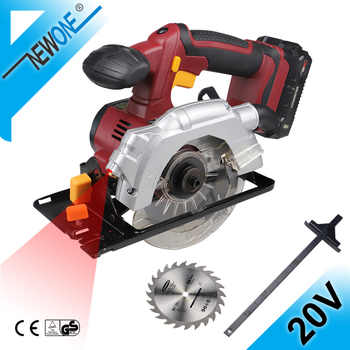 20V Cordless 5.5-Inch Circular Saw With 1PC 140mm Disc Saw Blades Electric Woodworking Tools,4000mAh Li-ion Circular Saw NEWONE - DISCOUNT ITEM  35 OFF Tools