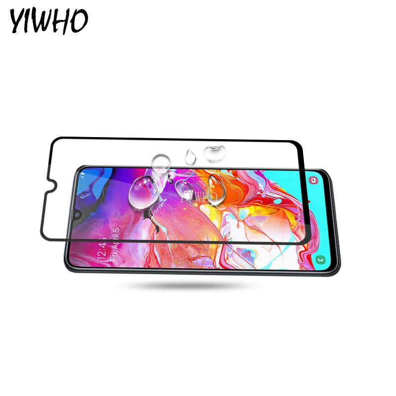 Tam kapak cam Samsung A705F temperli cam ekran koruyucu için Samsung Galaxy A70 70 70a A7050f 6.7 SM-A705FN /DS 2019