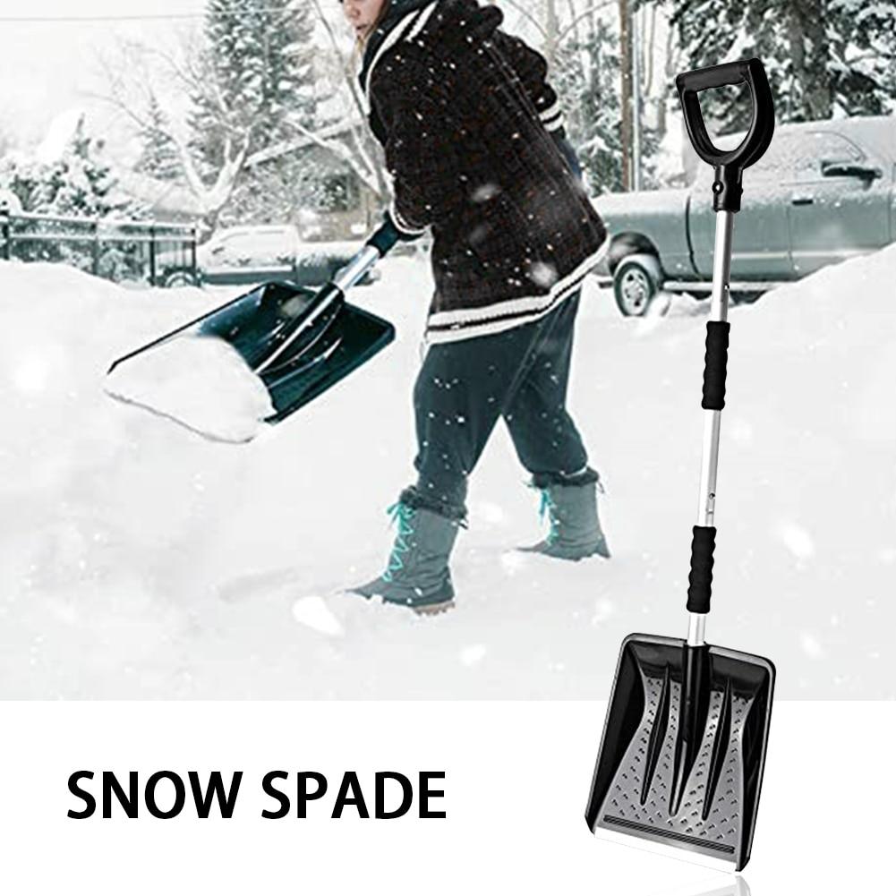 de acampamento inverno pá neve portátil kit