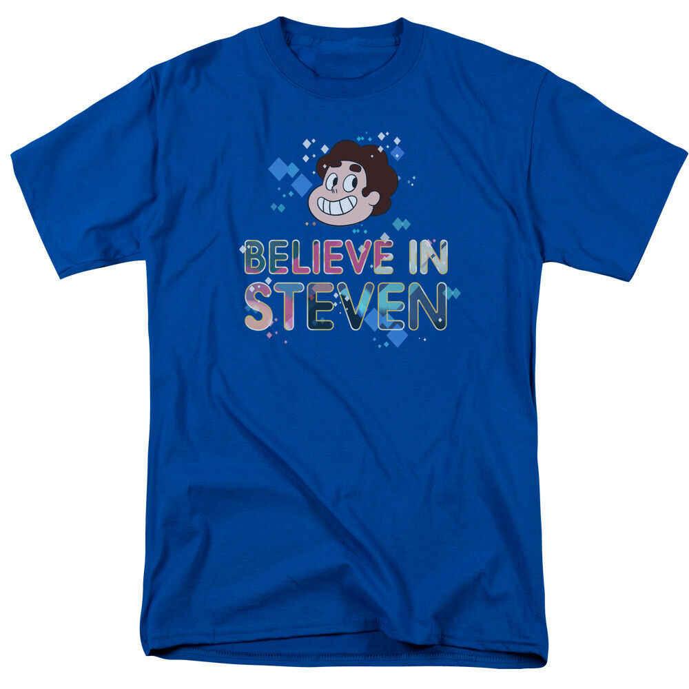 Camiseta para hombre con licencia de Steven Universe Believe Naruto camiseta Xxxtentacion Harajuku