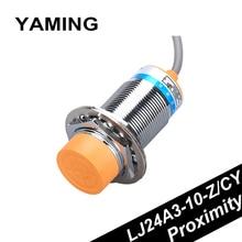 цена на Inductance Type Proximity Switch Sensor 24V36V DC Four Line PNP / NPN Inductive NO/NC Copper LJ24A3-10-Z/CY