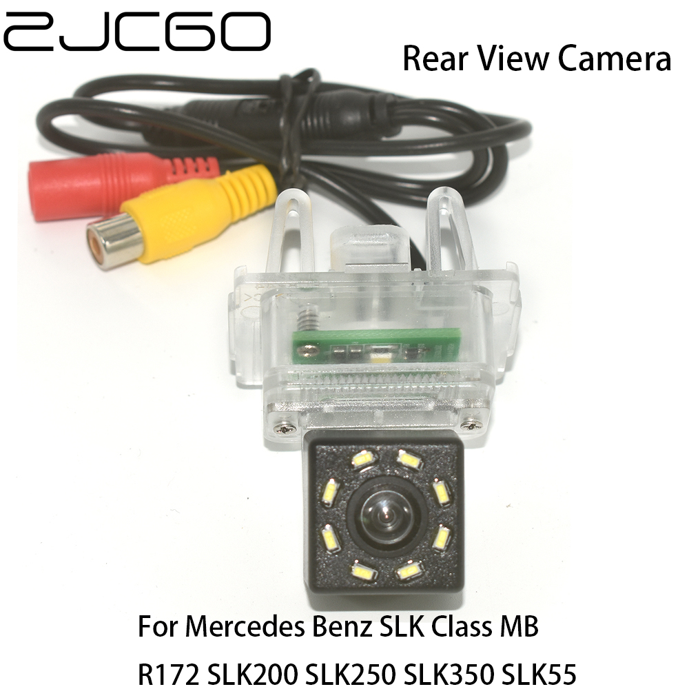 ZJCGO Car Rear View Reverse Back Up Parking Night Vision Camera for <font><b>Mercedes</b></font> <font><b>Benz</b></font> <font><b>SLK</b></font> Class MB R172 <font><b>SLK200</b></font> SLK250 SLK350 SLK55 image