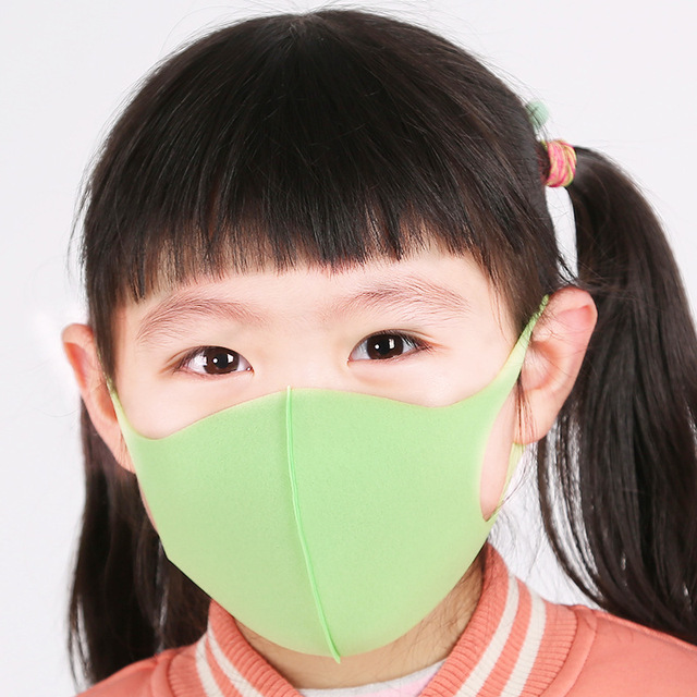 3PCS Childern Mask Sponge Dustproof Masks proof Pollution Cycling Face Mask For Kids 1