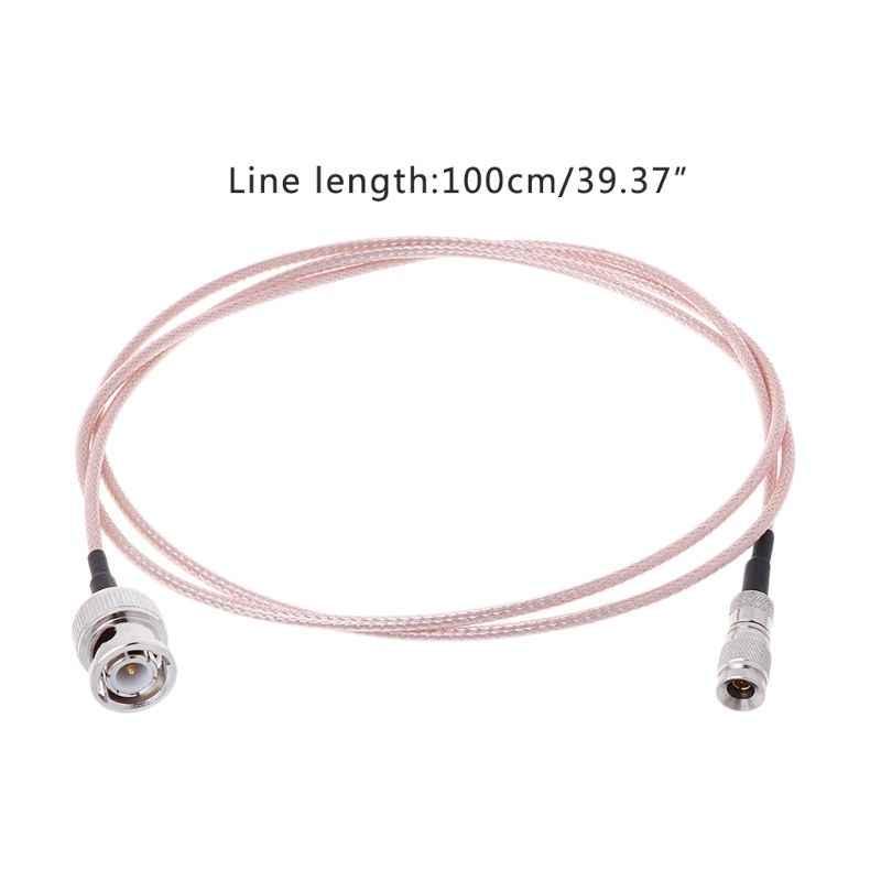 DIN 1.0/2.3 Mini BNC To BNC Male Connector Cable RF RG179 HD SDI 75ohm For Blackmagic HyperDeck Shuttle
