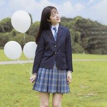 JK Suit Jacket Women's  New Japanese School Uniforms for Girls Plaid Skirt Schoolgirl Uniform Anime School Girl Uniform