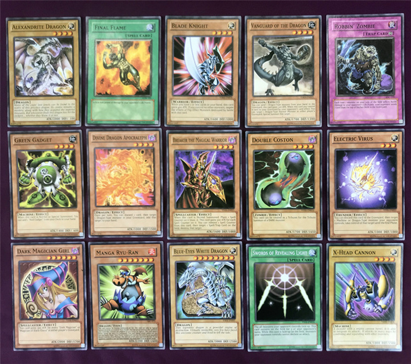 Yugioh Cards Egyptian God Collectible Toys for Boy Free Yu-gi-oh Metal Box 66Pcs Figures Japan Yu Gi Oh Legendary Game Cartas (7)
