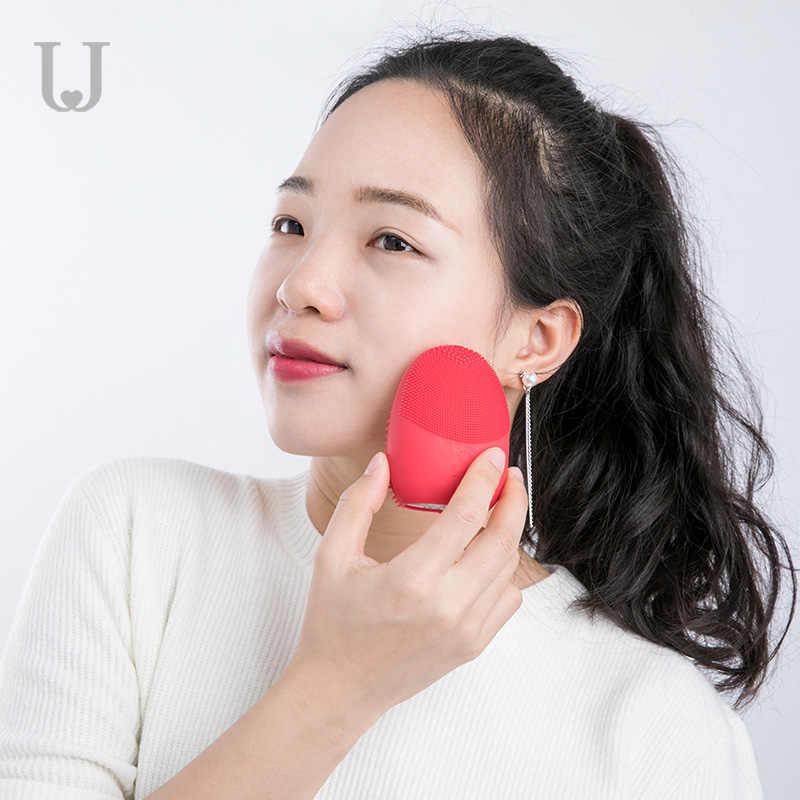 Xiaomi Original JORDAN & JUDY limpieza facial Mini cepillo eléctrico de masaje lavadora IPX7 silicona profunda limpieza herramientas