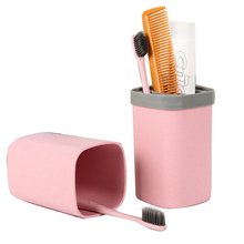 Organizer Bath Travel Toothbrush Cup Storage-Box-Holder Tooth-Mug for Camping Holiday