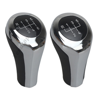 Shifter Lever Stick Gear Shift Knob For BMW 1 3 5 6 Series E46 E53 E60 E61 E63 E65 E81 E82 E83 E87 E90 E91 E92 X1 X3 X5 M Car image