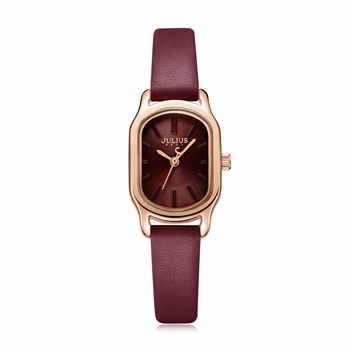 Julius Uhr Oval Elegante Kleid Uhr für Frauen Uhr Modus Luxus Marke Dame Kristall Uhr Reloj Mujer Baratos JA-1112