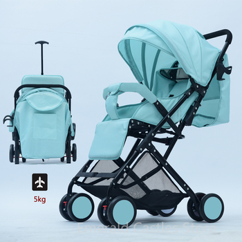 Portable folding baby stroller handiness Baby Pushchair Lightweight Baby Pram ultra-light baby car travel cabin baby carriage portable lightweight baby stroller folding buggy pram child umbrella car baby carriage travel airplane pushchair wheelchair 0 3y