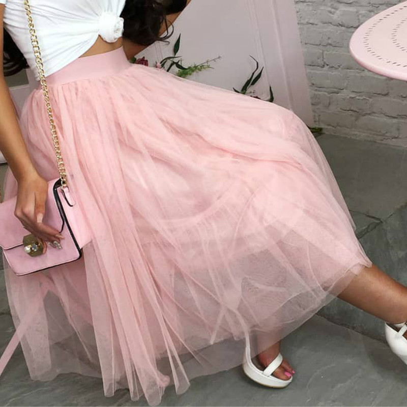 Womens Girl Princess Ballet Tulle Tutu Skirt Evening Party Wedding Arrival Mesh Skirts