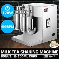 Máquina comercial de aço inoxidável do milkshake do chá do leite de bobo da agitação da bolha do liquidificador Peças p/ mixer de alimentos     -