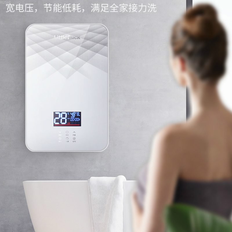 Household Small Fast-heating Type Fast-heating Constant Temperature Shower Instant Electric Water Heater Heaters