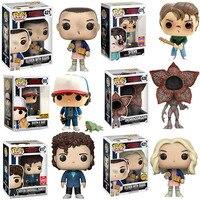 Stranger things Eleven Dustin Dart Snowball Dance Steve Vinyl Action & toy figures toys for Children Christmas Gift figma