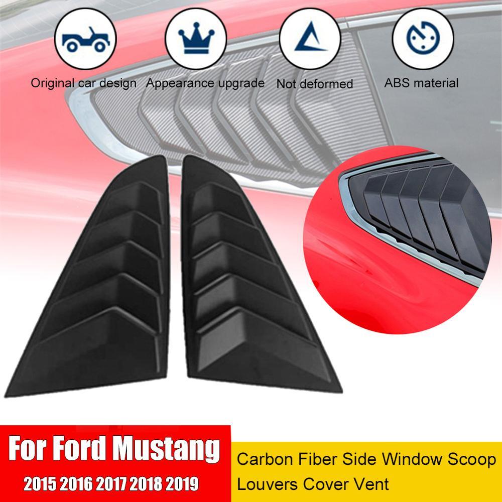 1 par 1/4 cuartos lateral de la ventana de la persiana cubierta de la pala para Ford/Mustang lado ABS Deflector de la ventana de ventilación de la ventana ELEPHONE E10 Octa Core Smartphone 4GB 64GB 6.5