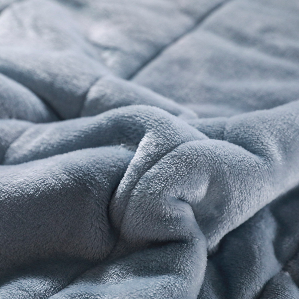 mmermind fleece blankets and throws Adult Thick Warm winter Blankets Home Super Soft duvet luxury solid Blankets On twin Bedding-2