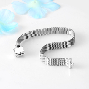 Image 3 - TOP Quality 925 Sterling Silver Clip Bead Bracelets for Women Fit Original Reflexions Bracelet charms femme Jewelry Fashion 2019