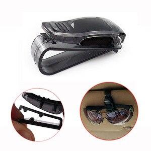 ABS Auto Glasses Sunglasses Clip car Accessories Stickers for Renault clio megane 2 3 4 duster captur scenic 2 logan koleos(China)