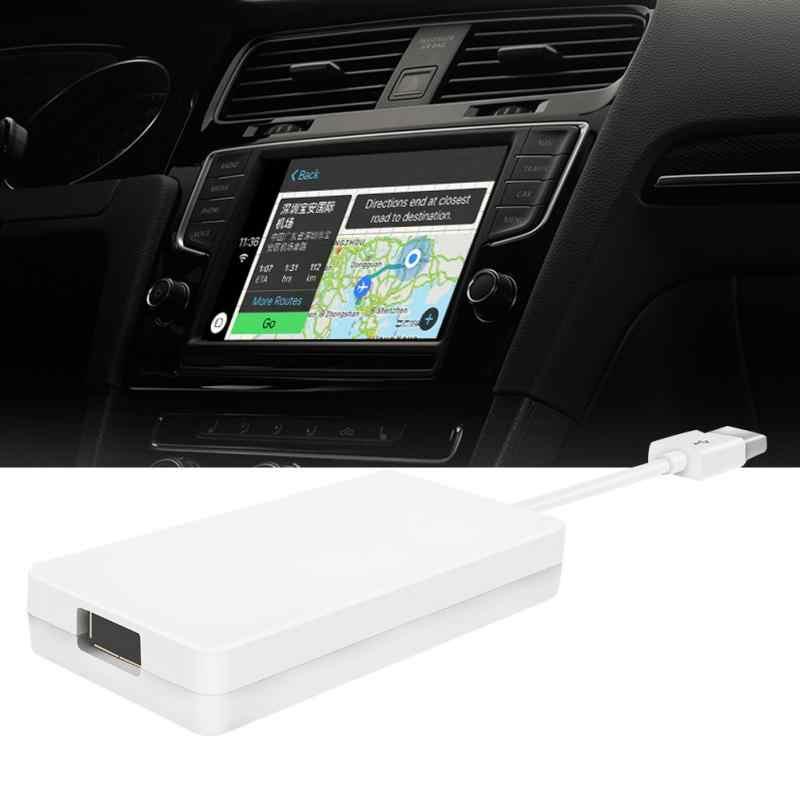 Умный Внешний порт CarPlay Голосовое управление мини-телефон Вождение USB модуль Музыка Беспроводная связь навигация по Bluetooth плеер аксессуары
