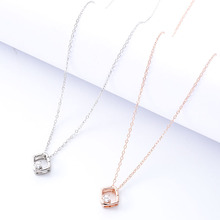 Womens Square Necklace Star Pendant Fashion New National Bohemian Gold Silver Short Best Friends Gift