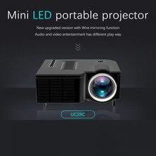 US LED Portable Mini Projector 320x180 Pixels Supports HDMI