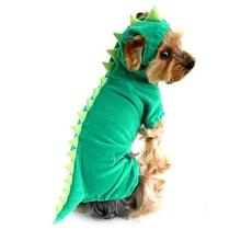 NACOCO Velvet Dinosaur Design Costume Dog Puppy Pet Clothes