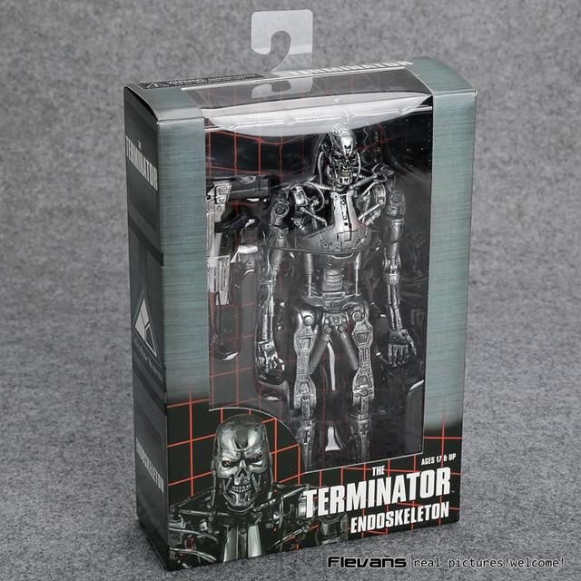 """Die Terminator Endoskeleton PVC Action Figure Sammeln Modell Spielzeug 7 """"18cm"""